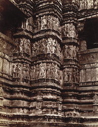 Carvings of Wiswanath temple, Khujraho